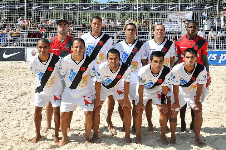 beach soccer: vasco campeão do rio-são paulo de 2010