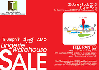 Triumph Warehouse Sale 2013