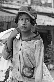 foto orang kelaparan
