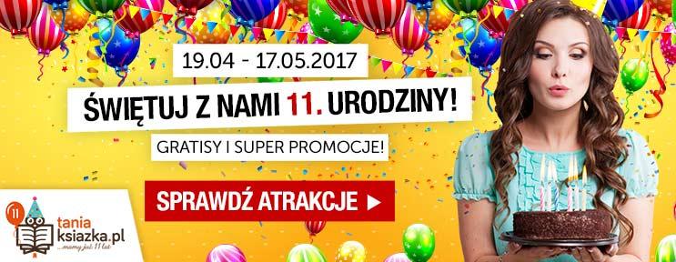 11. urodziny księgarni TaniaKsiazka.pl