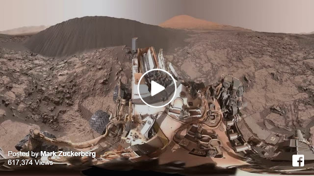 Video 360 độ về bề mặt của Sao Hỏa