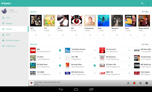 La mejor aplicación para escuchar la radio en android