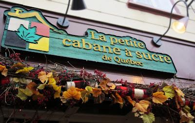 La Petite cabane a sucre de Quebec