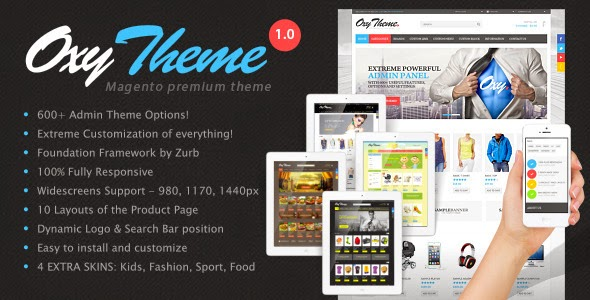 Multipurpose Magento Theme