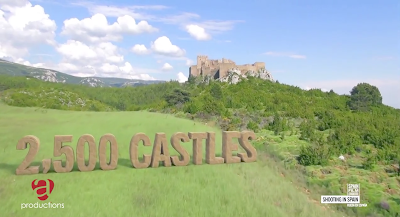 Spain has 2,500 Castles - see them in your Tipoa Hire Car
