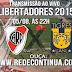 RIVER PLATE x TIGRES/MEX - LIBERTADORES - 05/08 - 21h