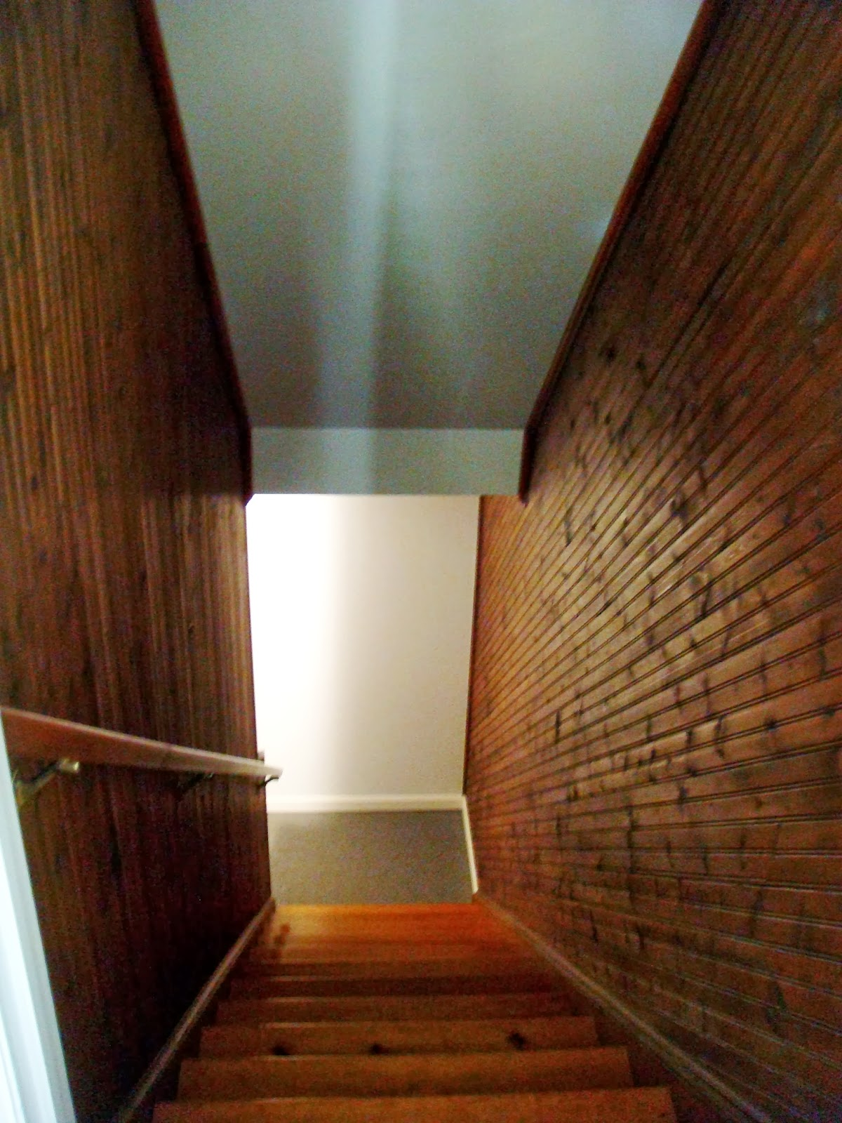 basement stairs looking down. Sweet Magnolia Way Brightening Up The Stairs  Looking