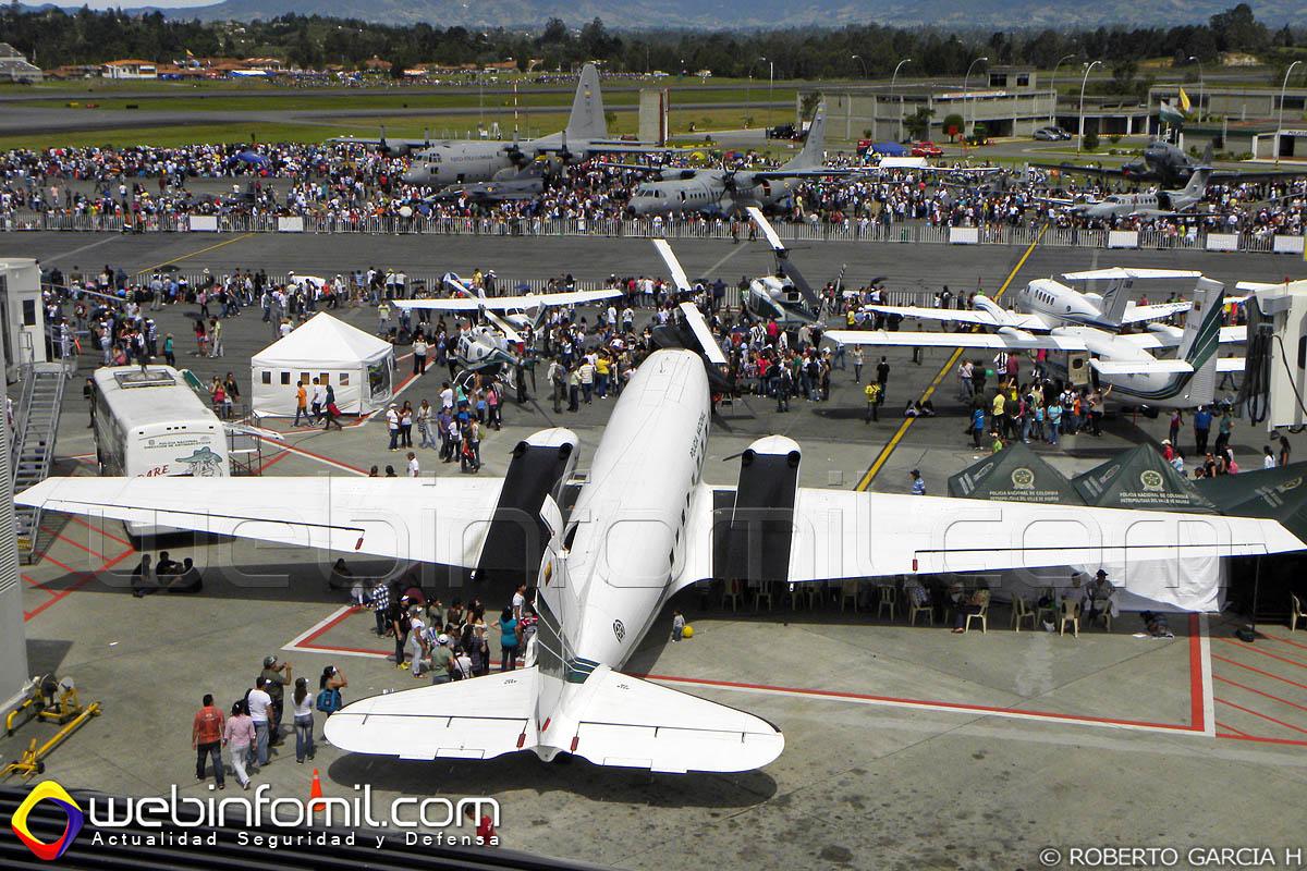 El Aeropuerto Internacional José María Cordova  de Rionegro estará cerrado de manera intermitente durante la F-AIR COLOMBIA 2015.