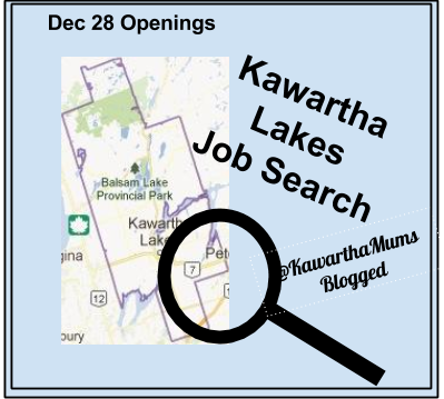 image Kawartha Lakes Job Opportunities December 28 2014 @KawarthaMums Blogged