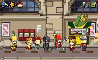 Scribblenauts Unmasked: A DC Comics Adventure Screenshots 2