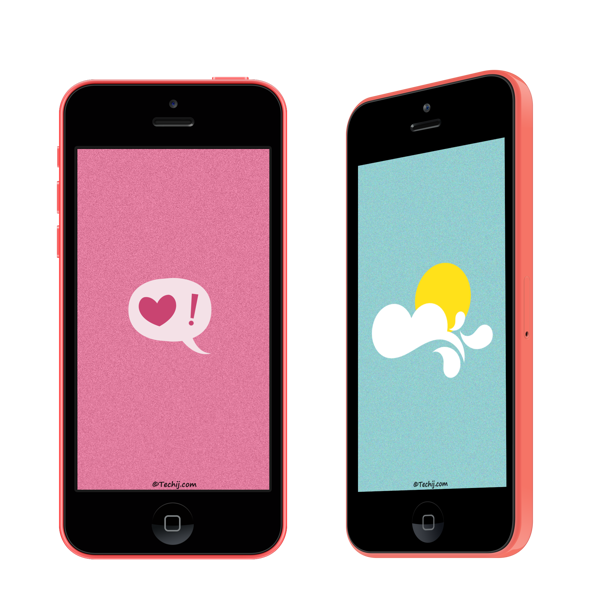Best Minimalist Wallpapers For iPhone 5 5S and 5C boys girls
