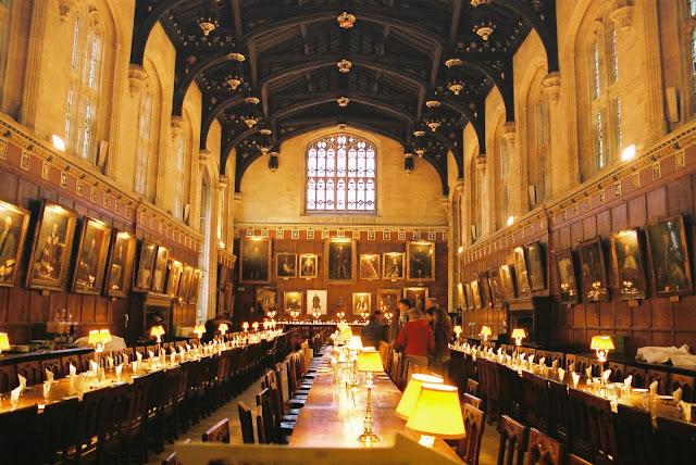 Christ Church College em Oxford