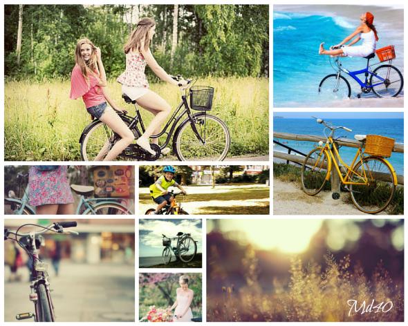 dia mundial de la bicicleta moodboard verano