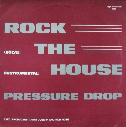 Pressure Drop - Rock The House You'll Never Be (Vinyl,12'' 1983)(ZYX Records)