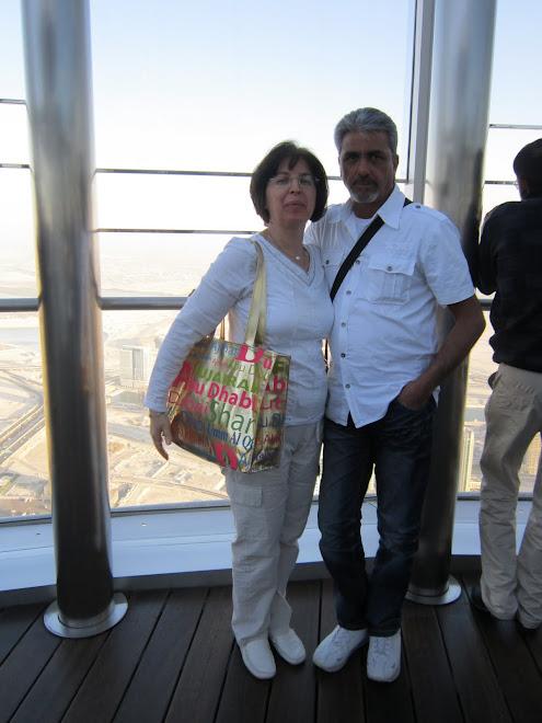sul grattacielo più alto del mondo hotel Kalifa