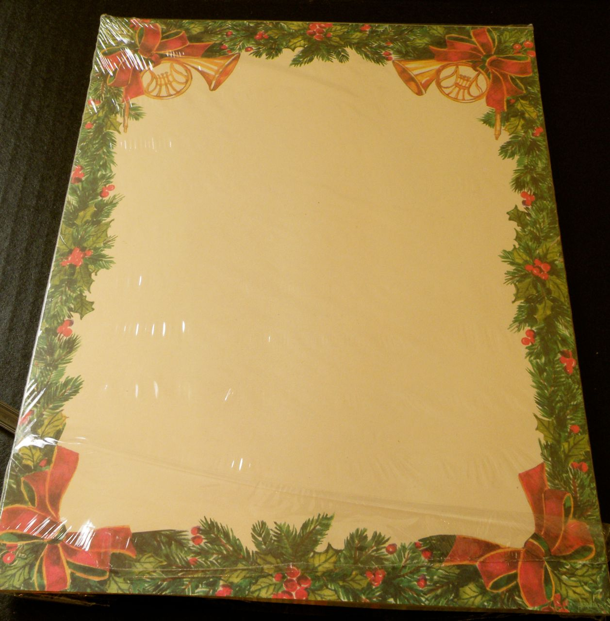 My Place to Yours SHOPPING: Christmas Letter Paper Assortment ...