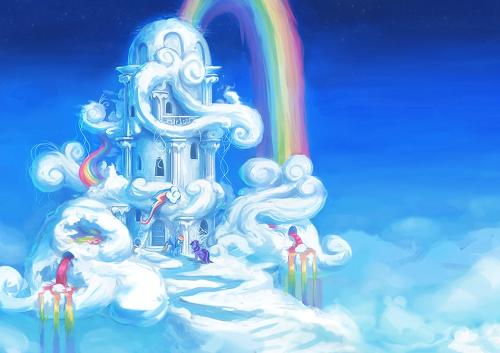 Mơ thấy đi trên đám mây xanh