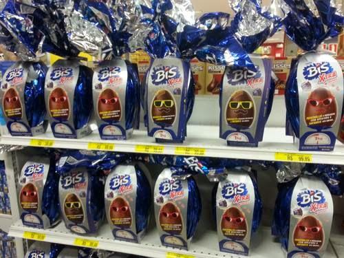 Ovos de Páscoa Bis Xtra + Chocolate da Lacta são retirados do mercado por incitar bullying.