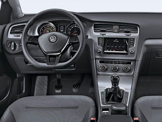 VW Golf Variant 2016 - Preço - interior