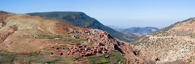 Morocco Atlas Mountains Berber
