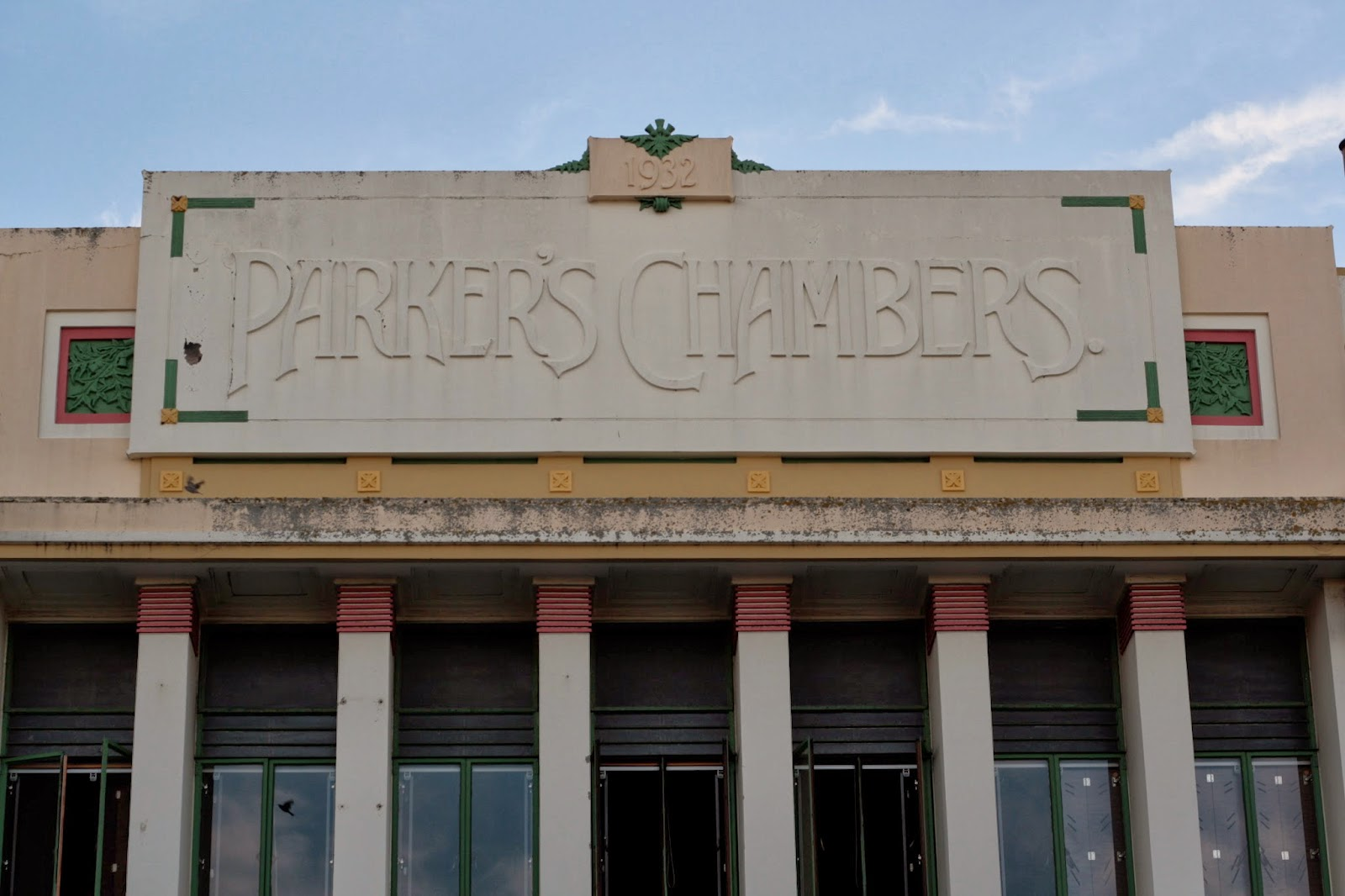 Parker's Chambers art deco style building 1932