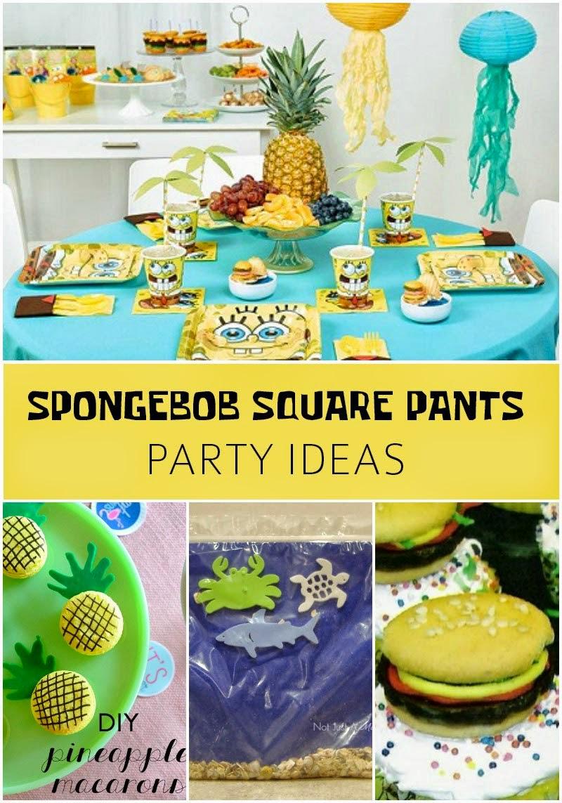 SpongeBob Squarepants Party Ideas