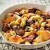 Patatesli, mercimekli ve etli güveç