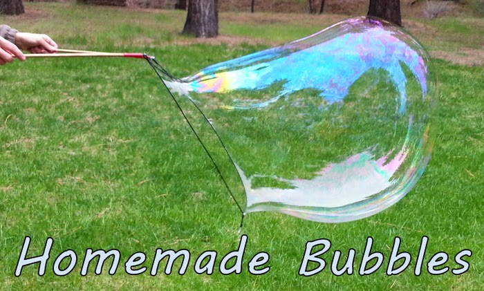how to make bubble solution for bubble machine