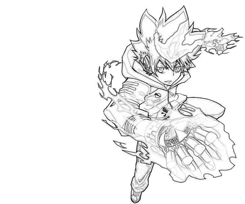 tsunayoshi-sawada-ability-coloring-pages