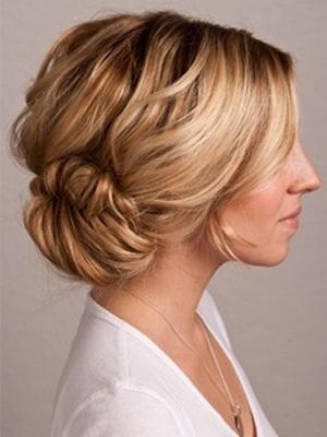 peinados con torzadas 2014