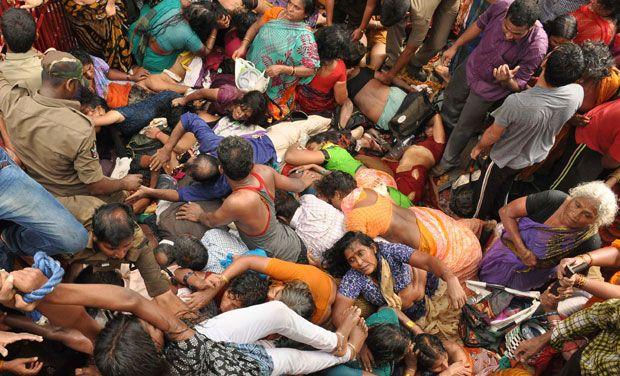 Ritual Hindu di India, Puluhan Tewas Terinjak-injak