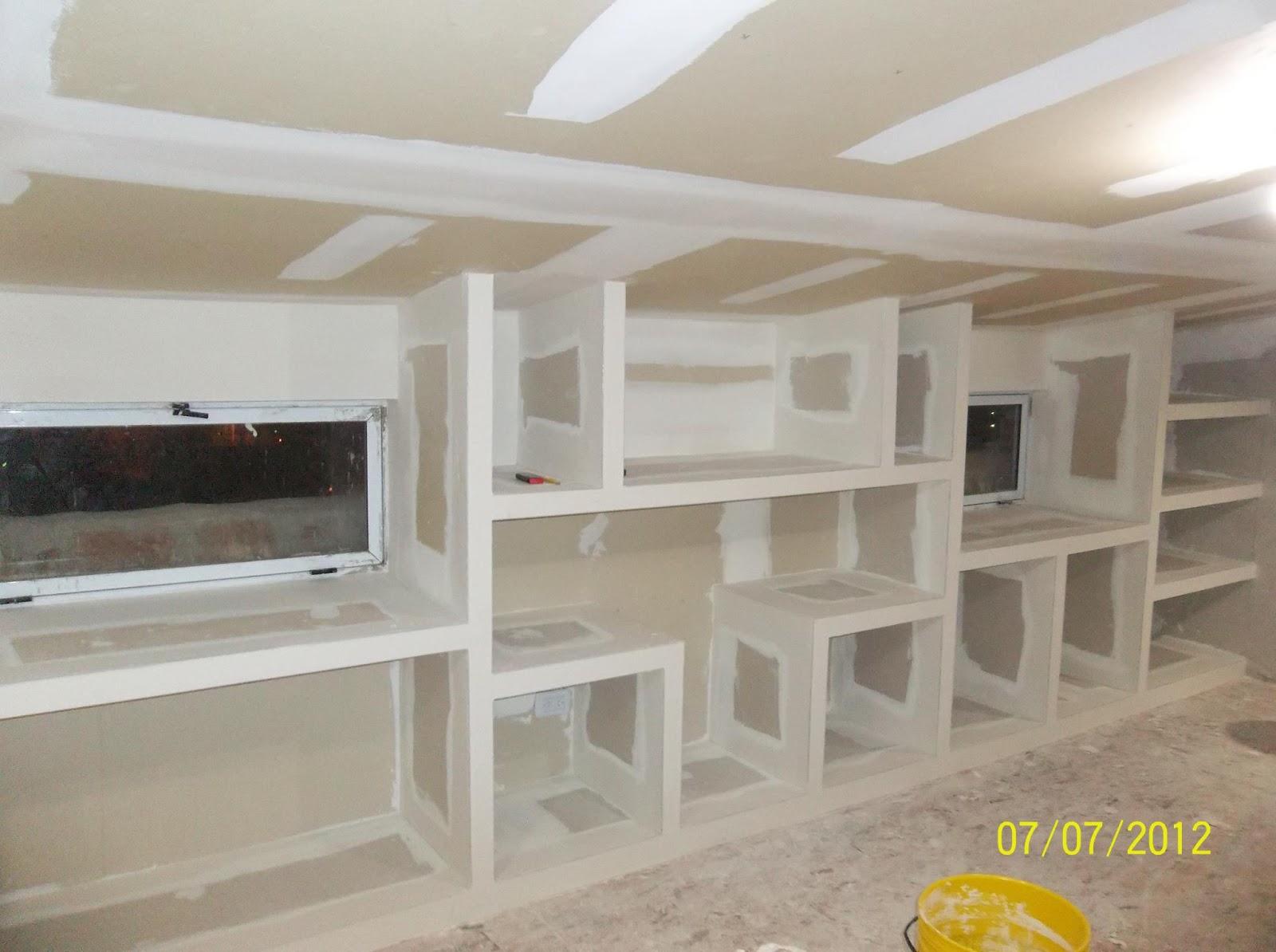 Adrian Perez Construcciones En Seco Durlock Muebles # Muebles Durlock