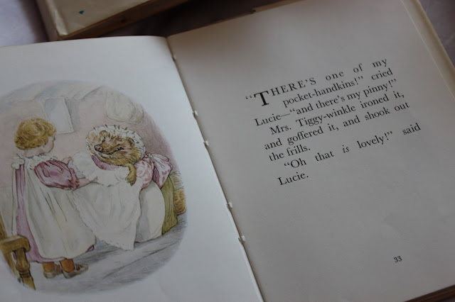 the tale of mrs tiggy-winkle book