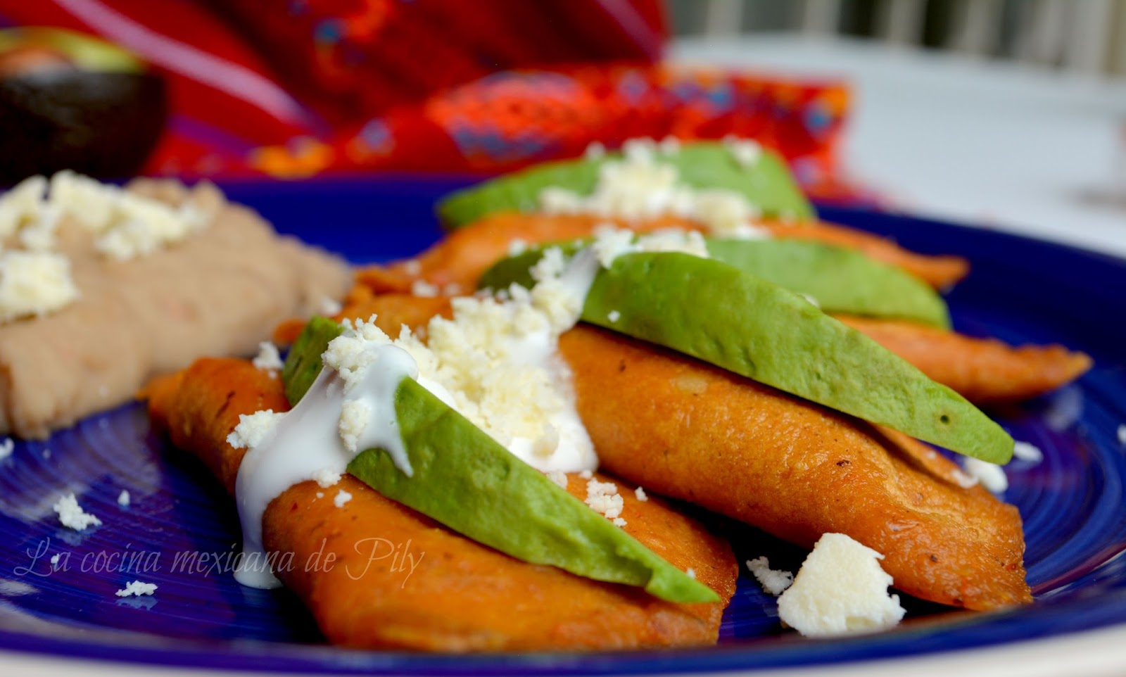The gallery for --> Enchiladas Potosinas