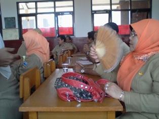 Pembukaan KKG Gugus Sukamerang 2012
