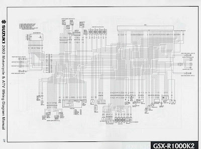 Suzuki GSXR1000 K2 2002    Motorcycle       Wiring       Diagram      All