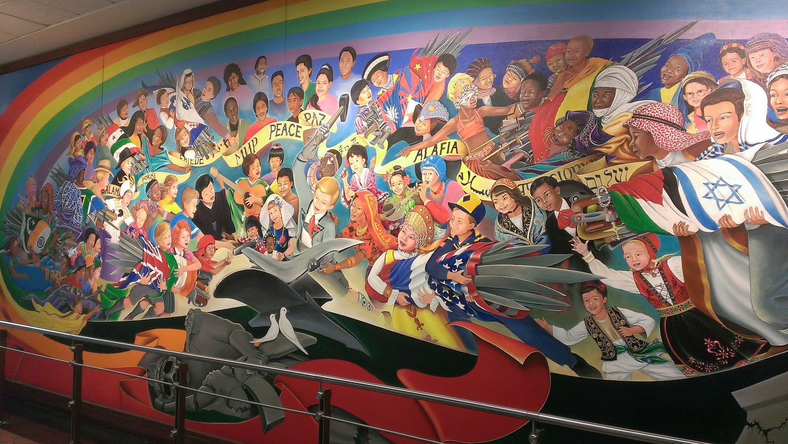 Denver airport murals for Denver mural airport