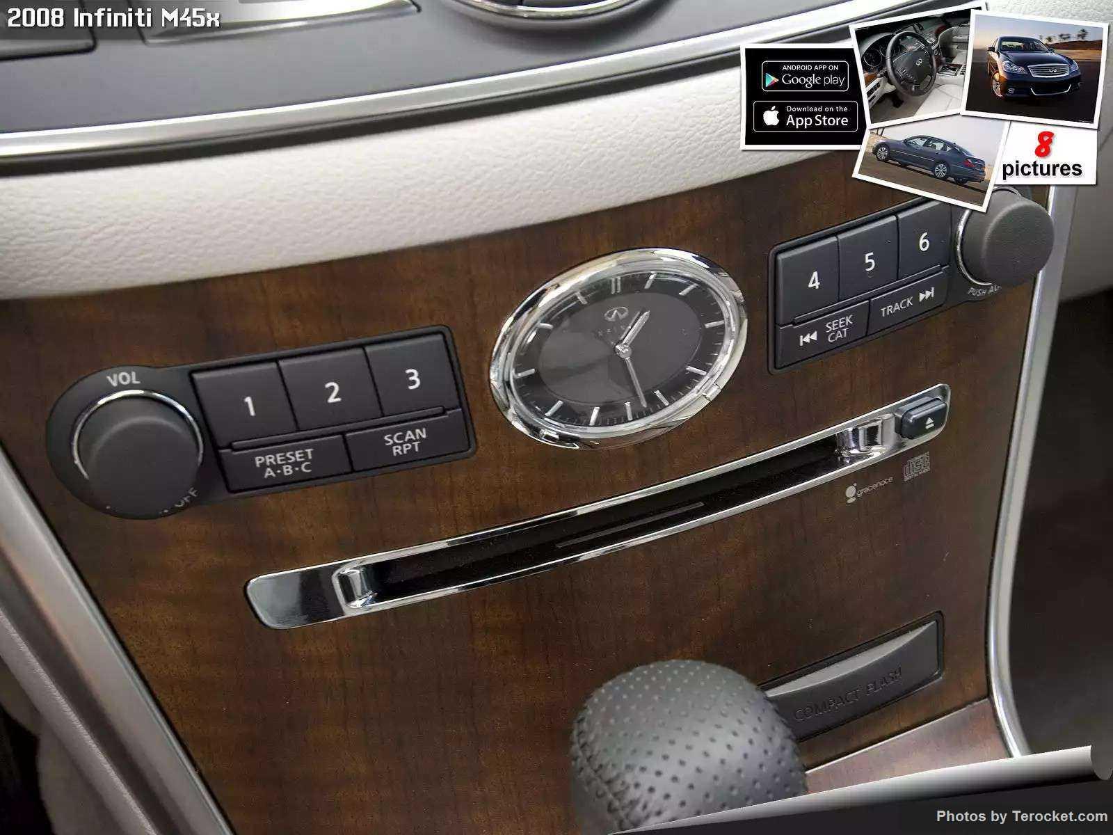 Hình ảnh xe ô tô Infiniti M45x 2008 & nội ngoại thất