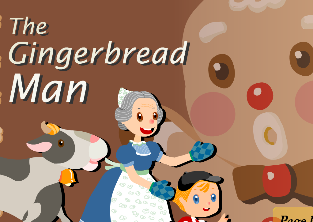 Gingerbread Man Story Characters Gingerbread man story to