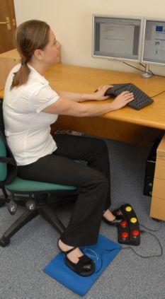 أول فأرة كمبيوتر تعمل بالقدمين