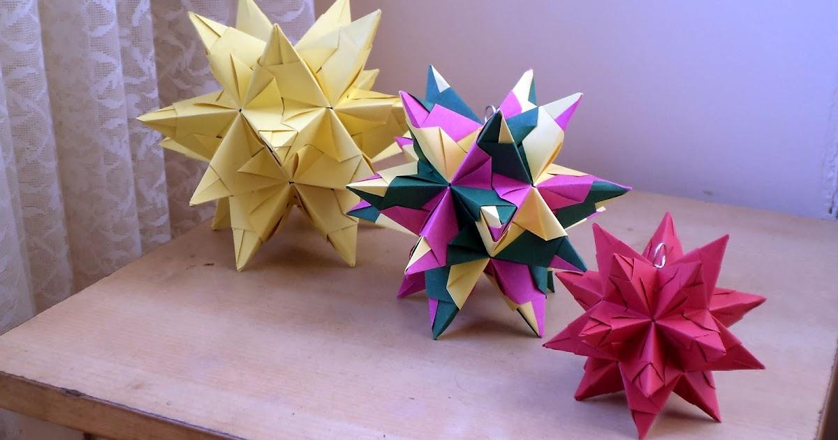 Origami Buckyball Flower