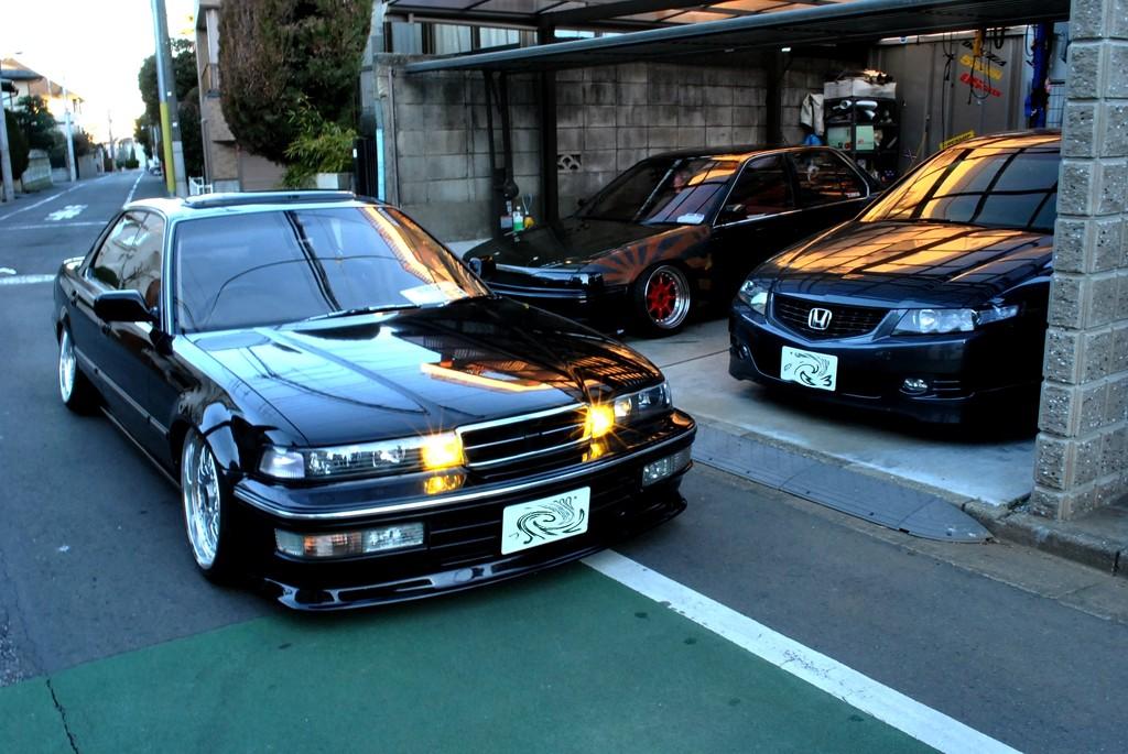 Honda Inspire CC, Accord CL & CB, ciekawe sedany, rzadko spotykane auta, zdjęcia