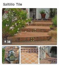 Avente Tile's Saltillo Tile Pinterest board