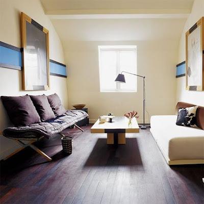 Dise o de sala funcional y elegante para espacios peque os Salas en l para espacios pequenos