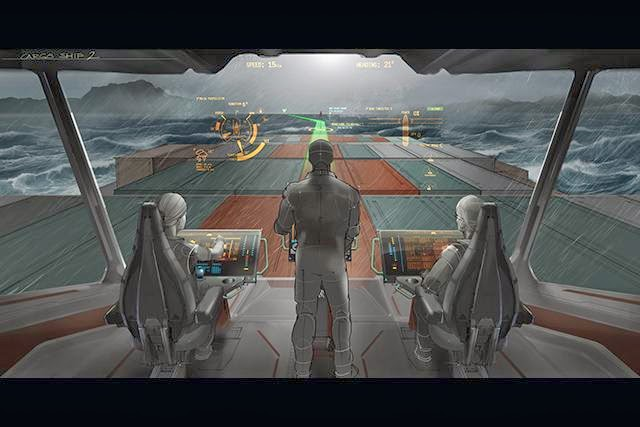 The Captains of Tomorrow: Powering the ships of the future with augmented reality