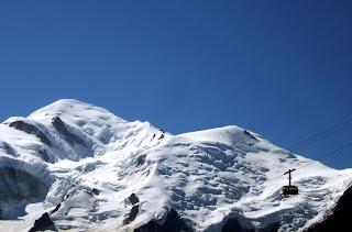 le telepherique du brevent et le mont blanc