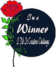 I Won at I Did It Creations Challenge Blog
