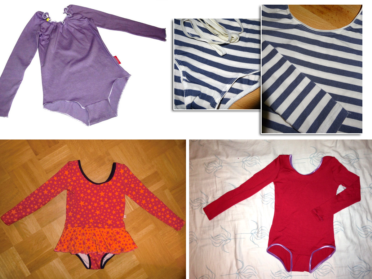 Probenähen: Ballettanzug! - Erbsenprinzessin Blog