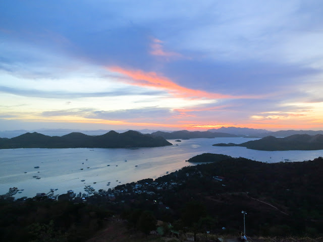 Sunset in Coron, Palawan