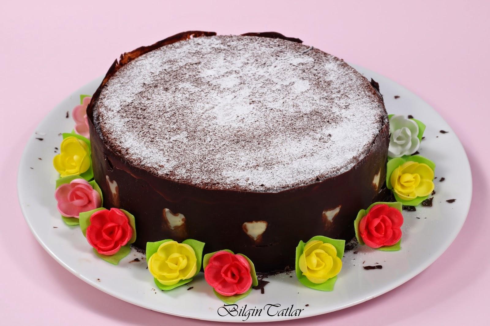kakaolu cevizli kek